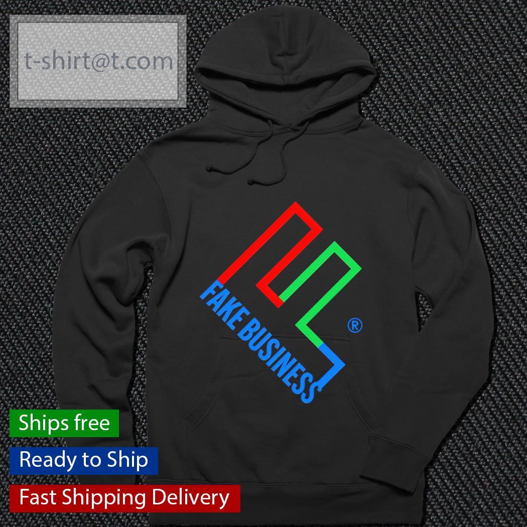 Fake business hoodie