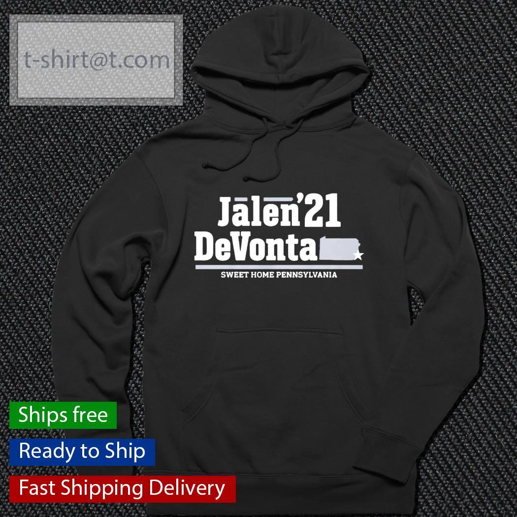 Jalen'21 DeVonta sweet home pennsylvania t-s hoodie