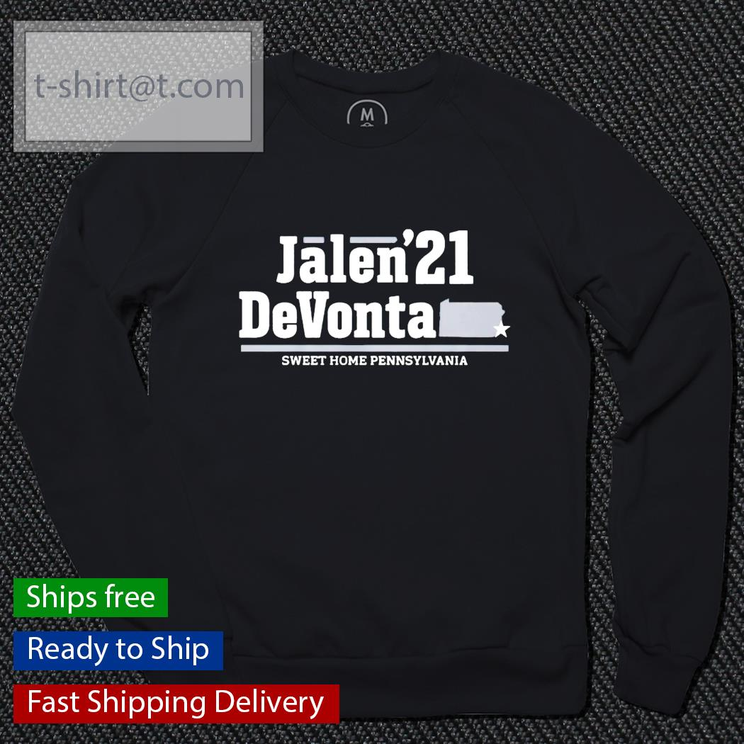 Jalen'21 DeVonta sweet home pennsylvania t-s sweater