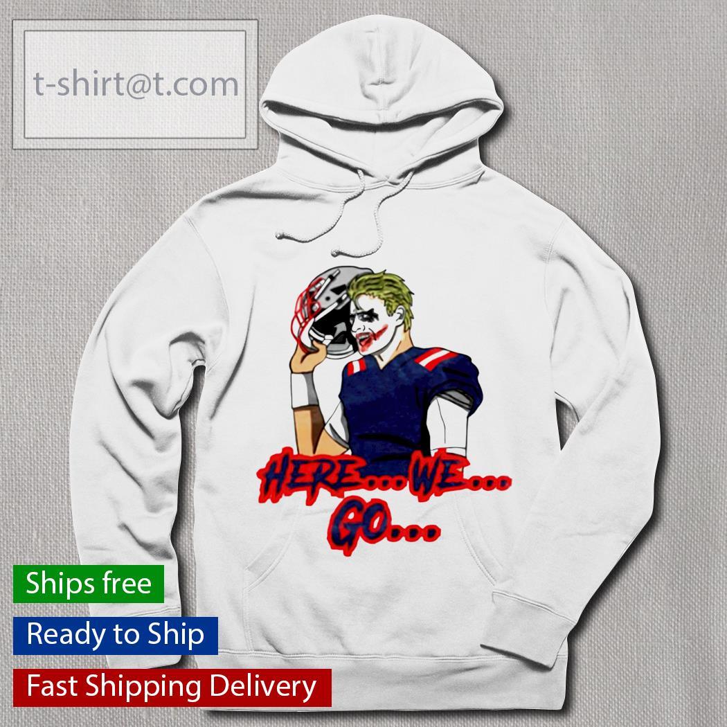Joker here we go hoodie