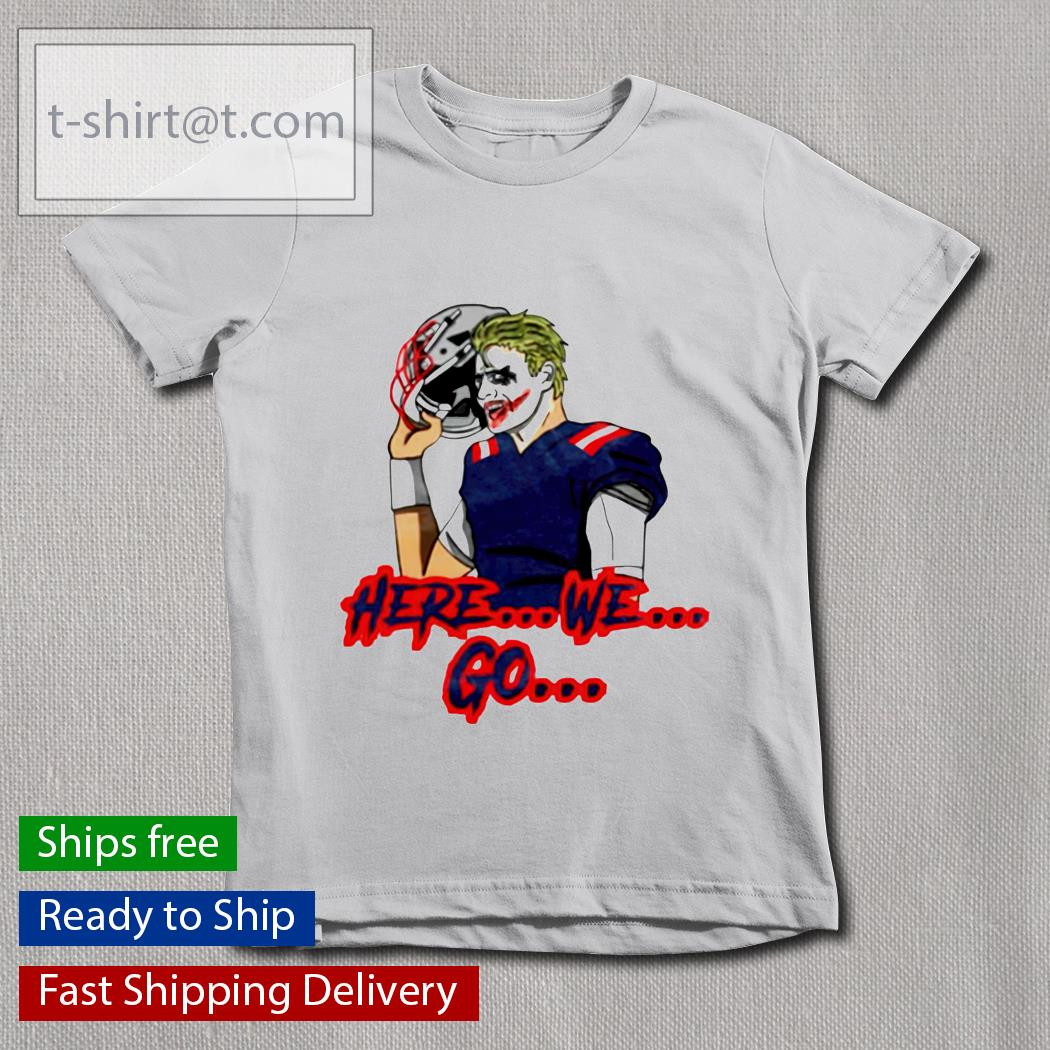 Joker here we go youth-tee