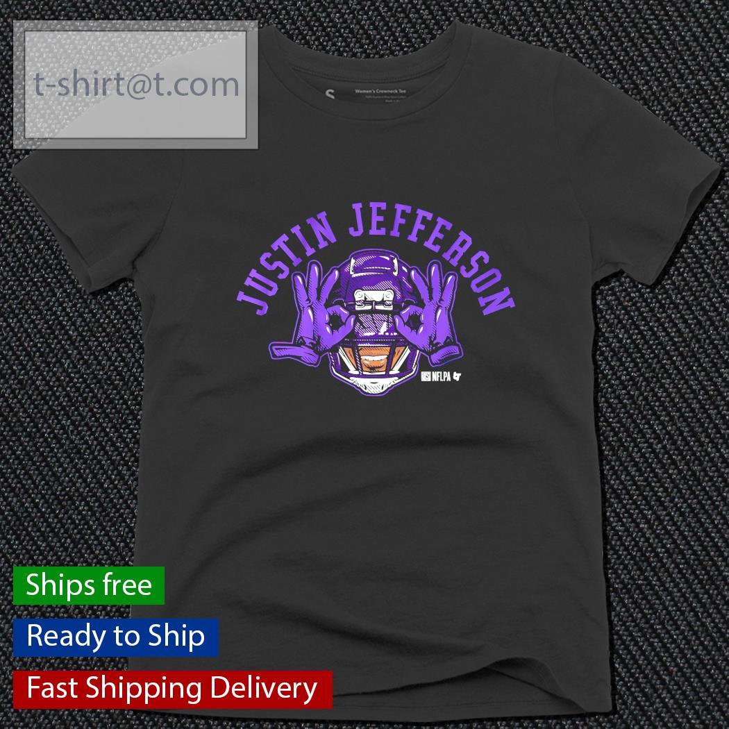 Justin Jefferson Vikings Football ladies-tee
