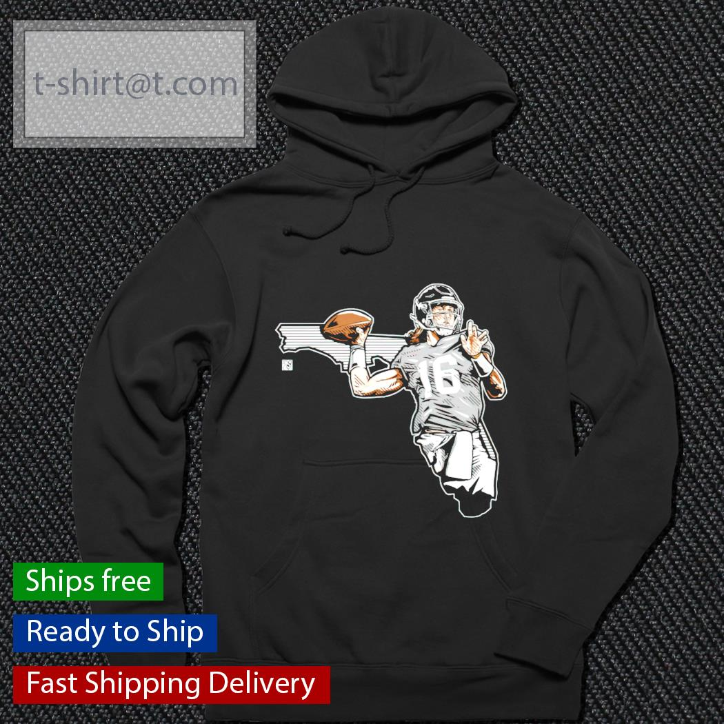 Lawrence Trevor 16 rugby ball hoodie