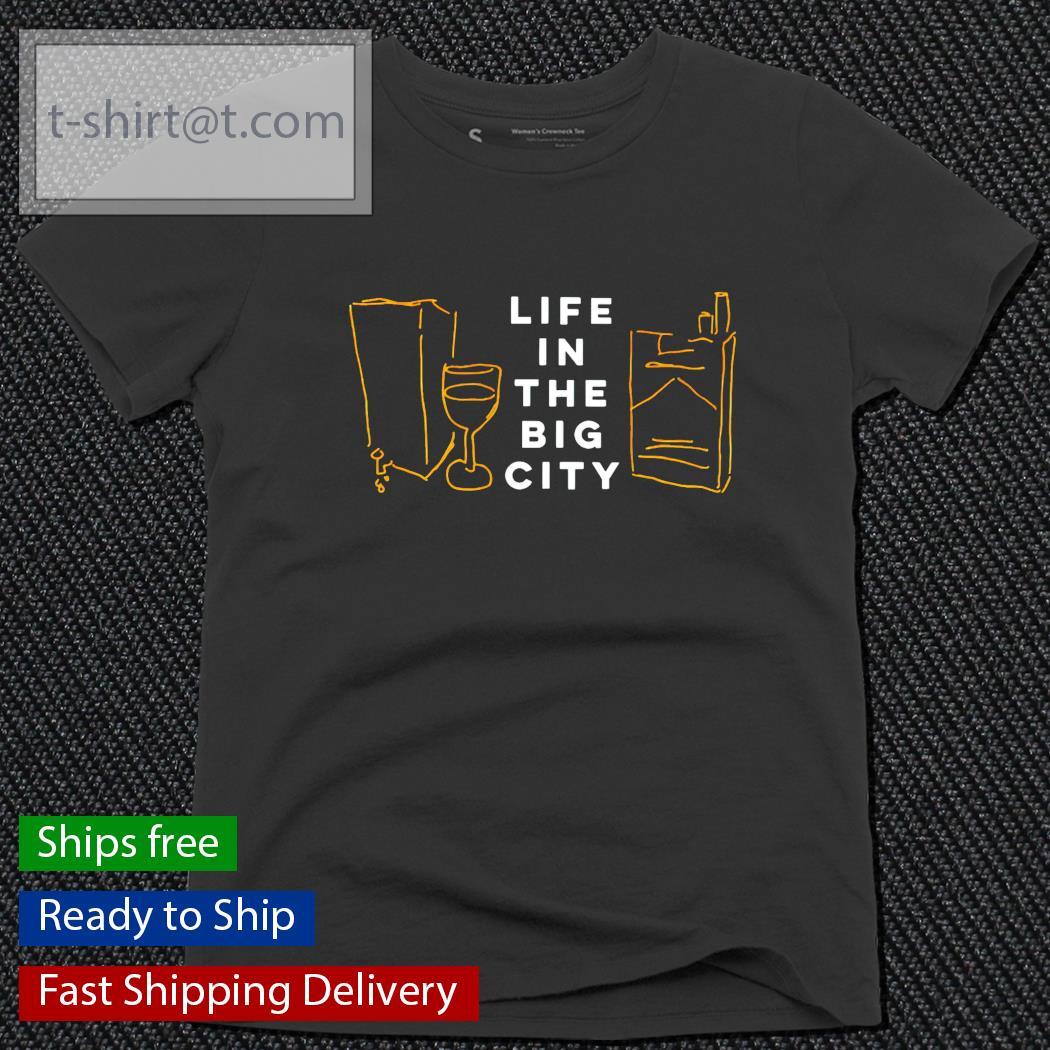 Life in the big city ladies-tee