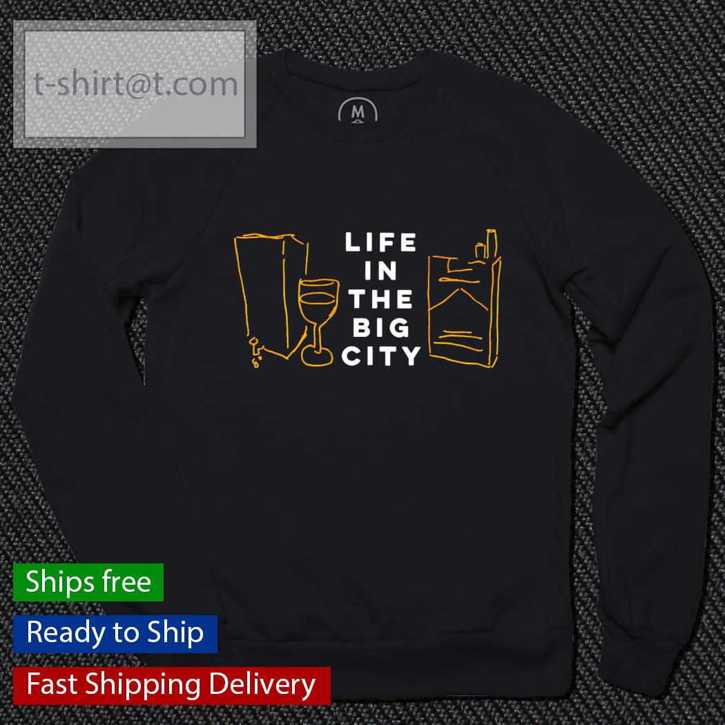 Life in the big city sweater