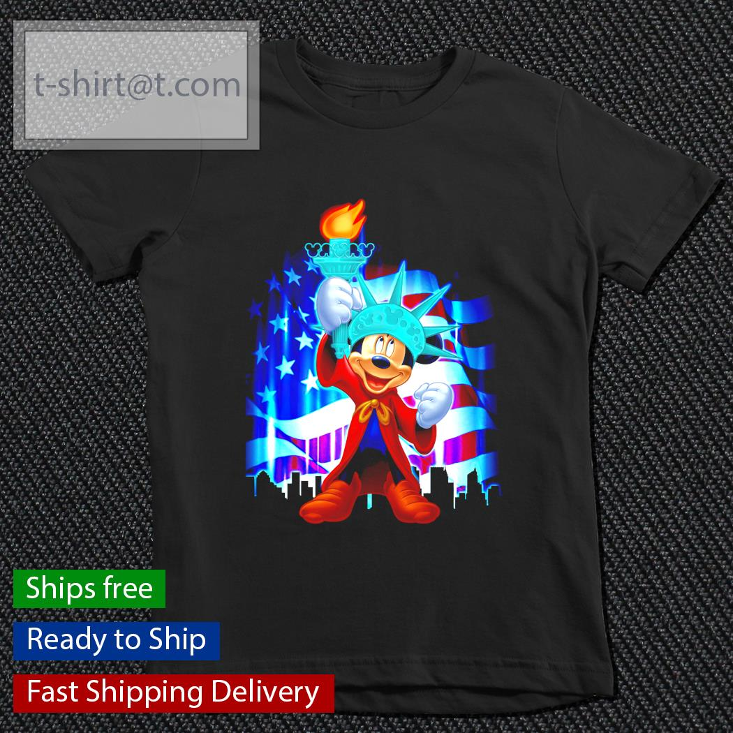 Mickey Mouse Independent American flag youth-tee