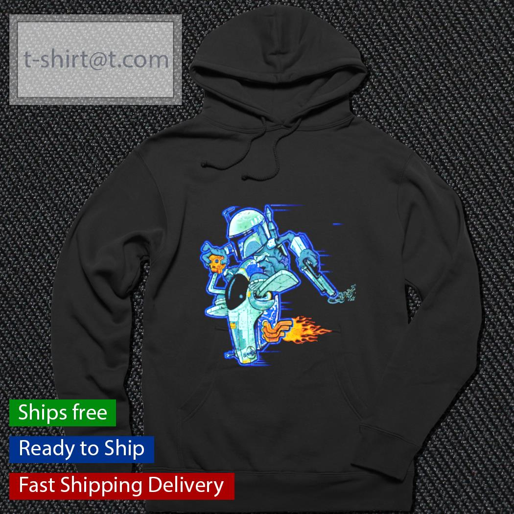 Pew Pew Two Star Wars hoodie