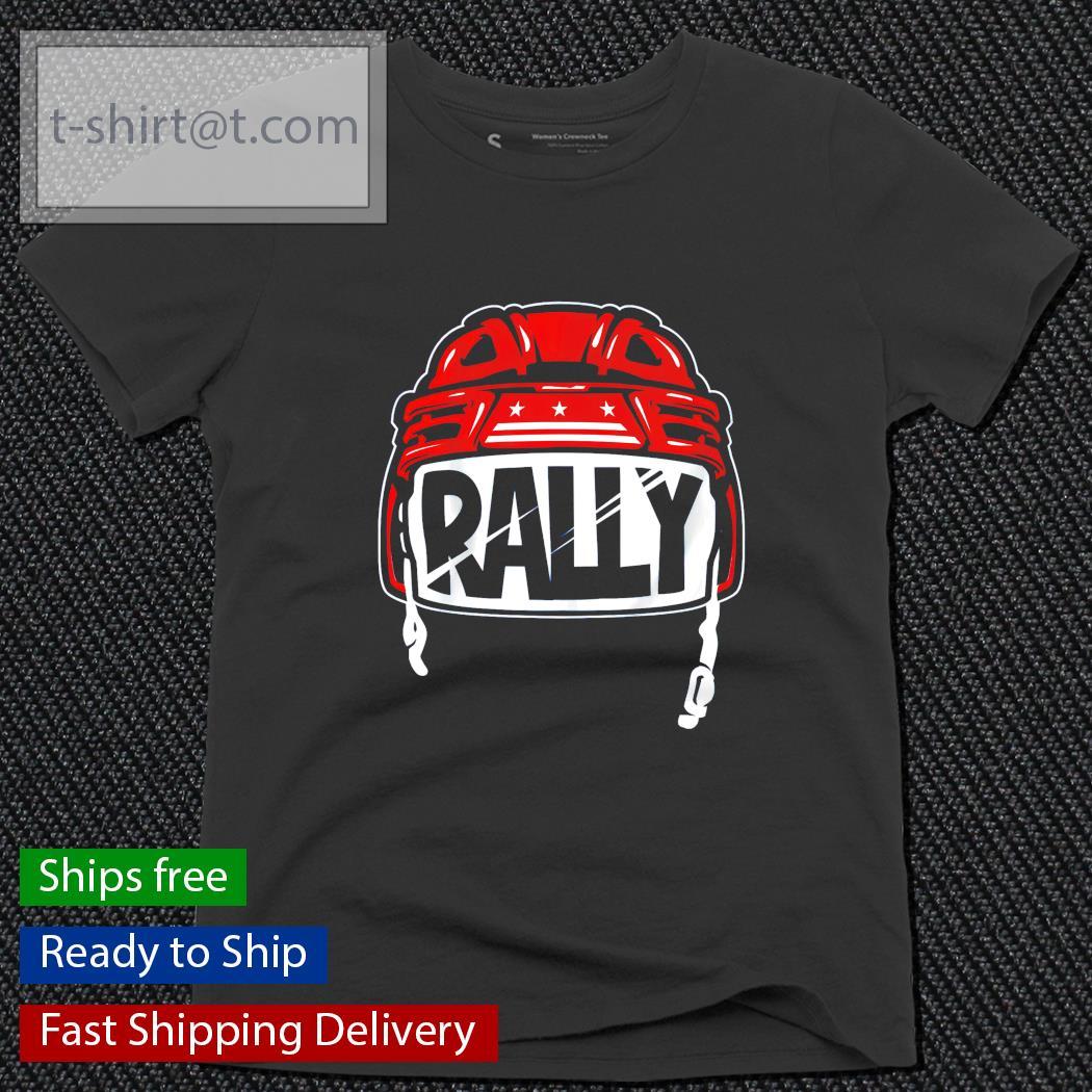 Rally Helmet Washington Baseball and Hockey ladies-tee