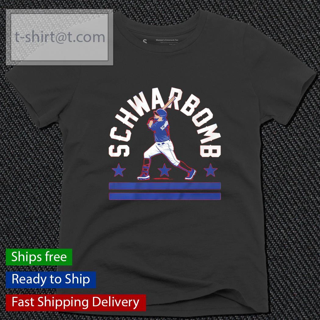 Schwarbomb baseball ladies-tee