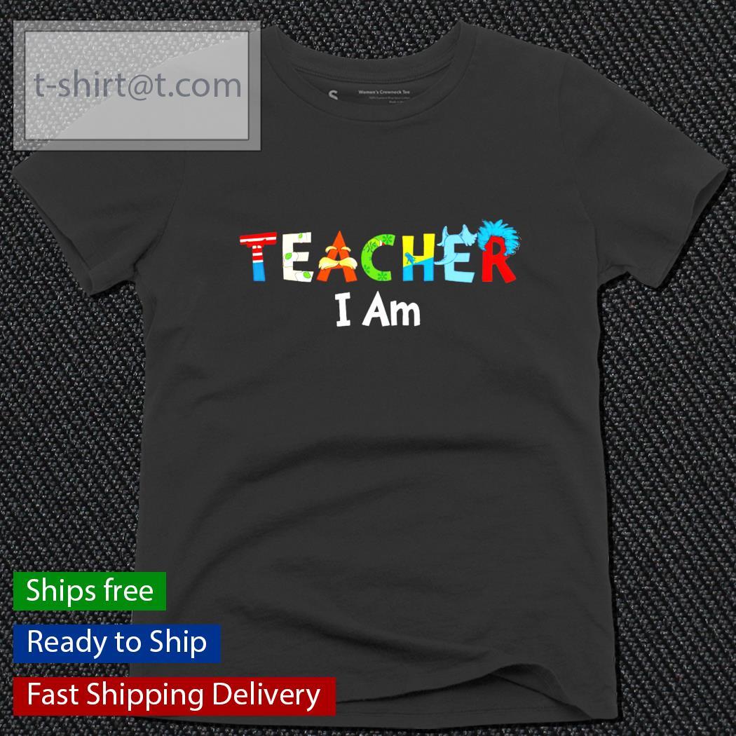 Teacher I am ladies-tee