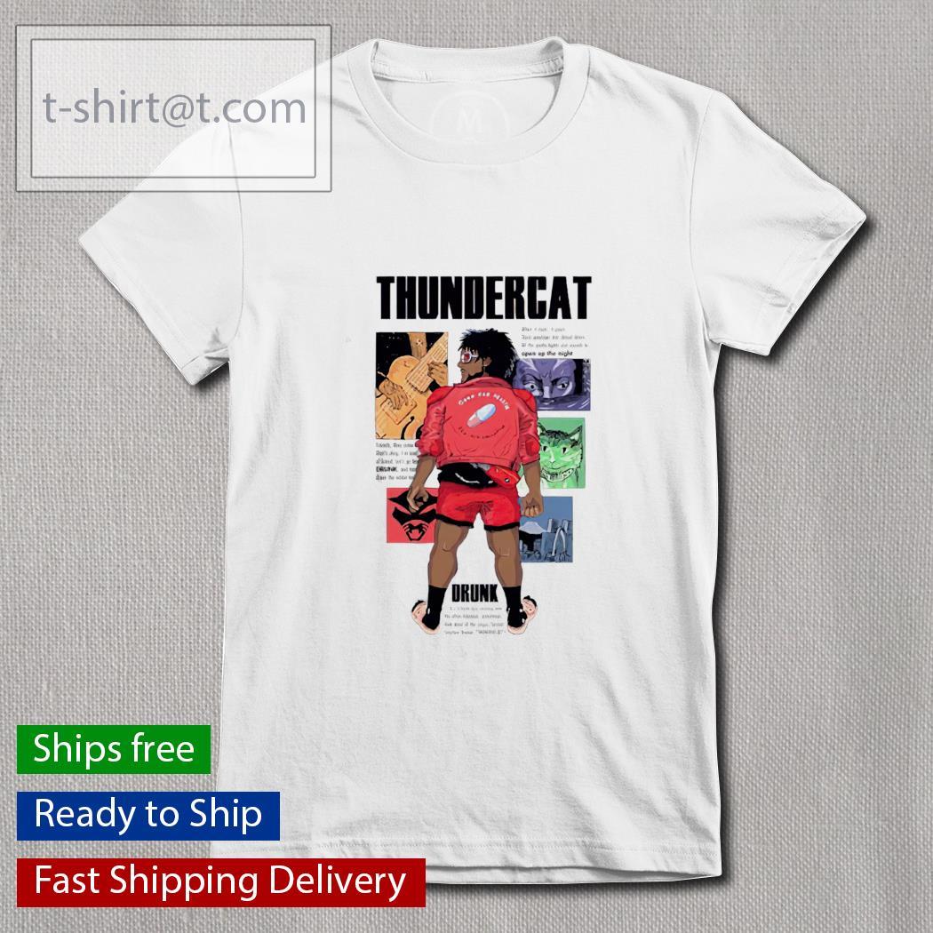 Thundercat drunk Ladies-tee