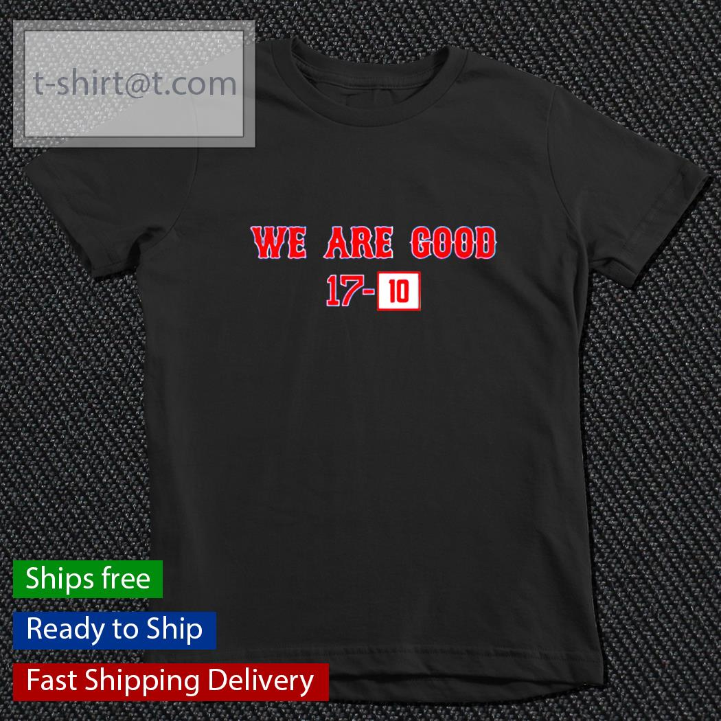 We Are Good 17-10 t-s youth-tee