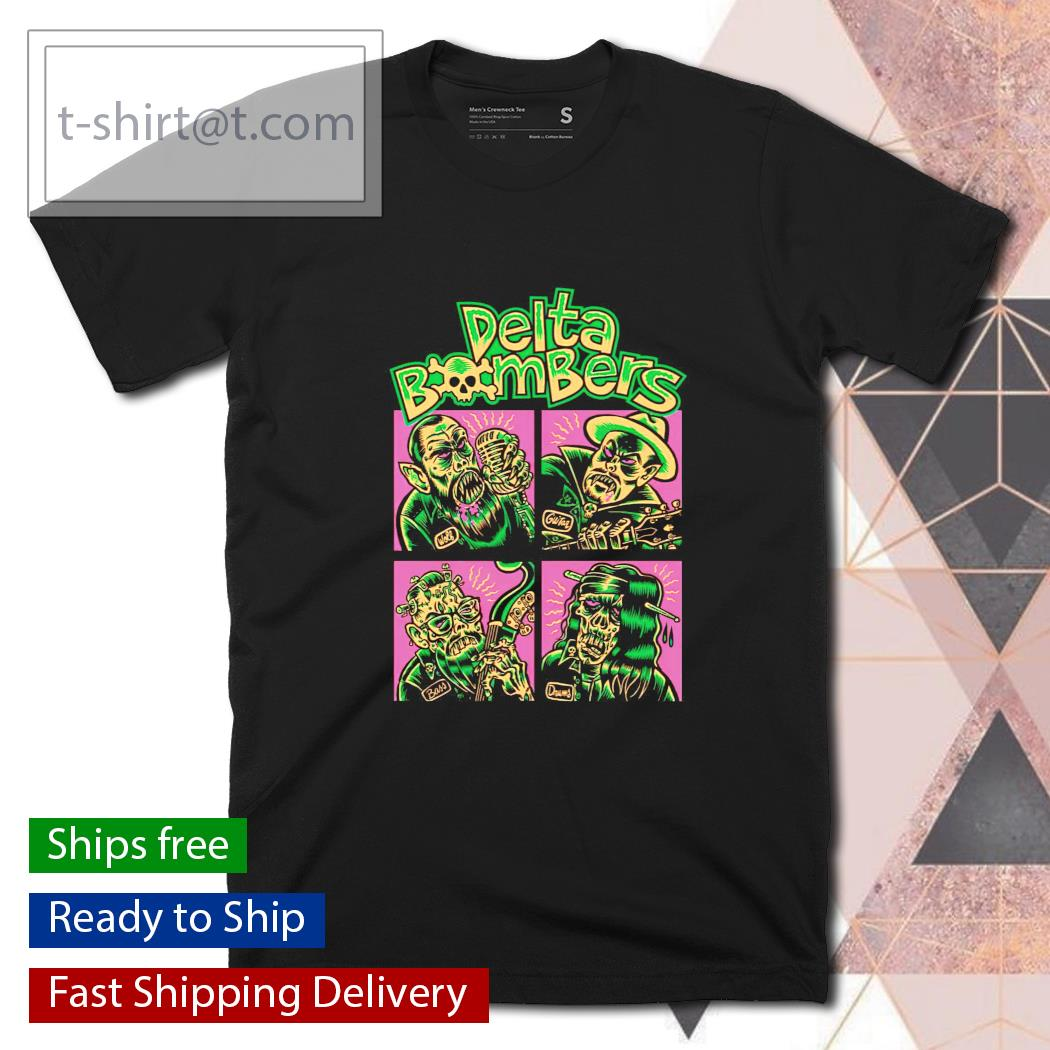 Zombie Delta Bombers shirt