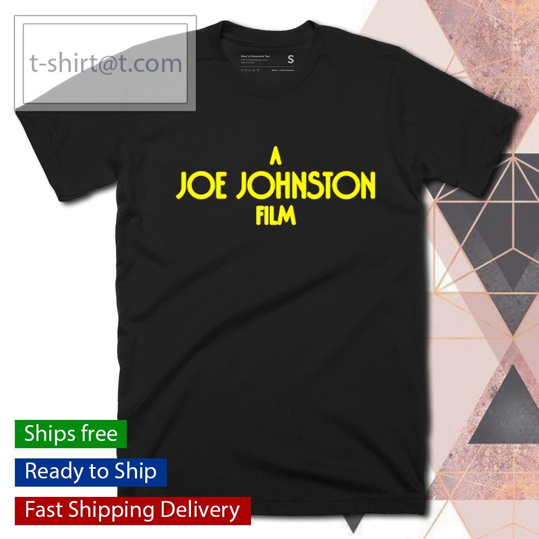 A Joe Johnston film shirt