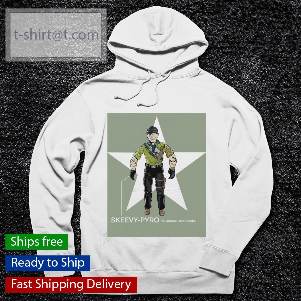 Dollar Store commandos skeevy pyro hoodie