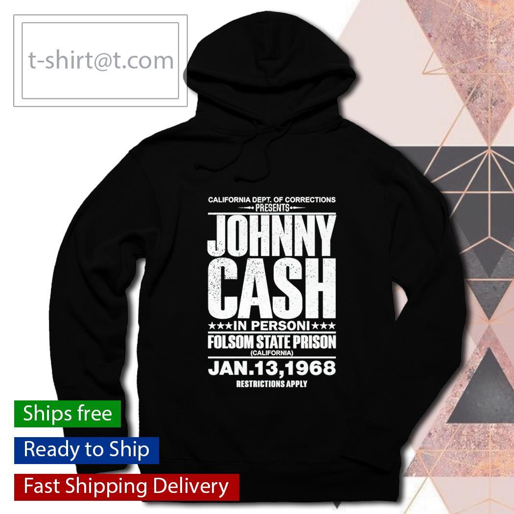 Johnny Cash Concert T-s hoodie