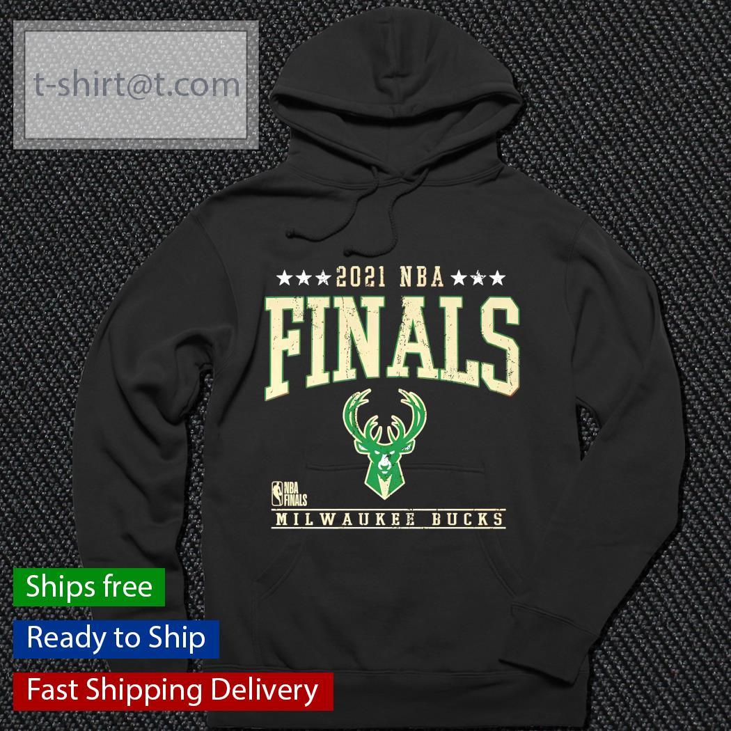 Milwaukee Bucks logo NBA 2021 Finals shirt