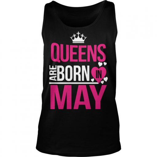 Cool Queens are born in May shirt