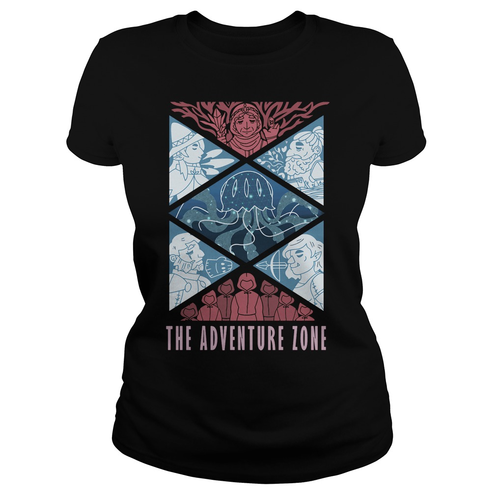 Adventure Zone Ladies Shirt