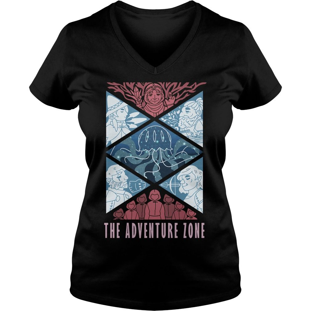 Adventure Zone V Neck T Shirt