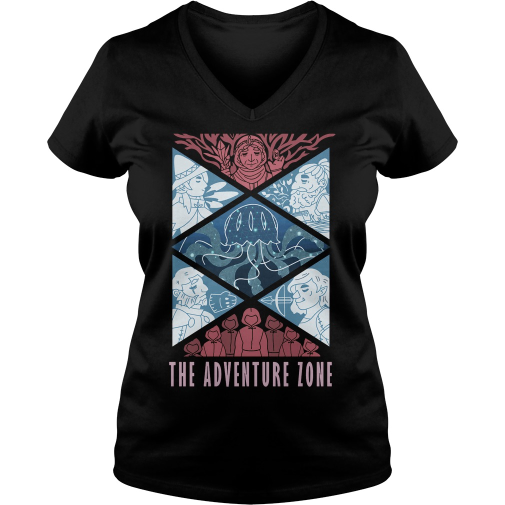 Adventure Zone V Neck T Shirt