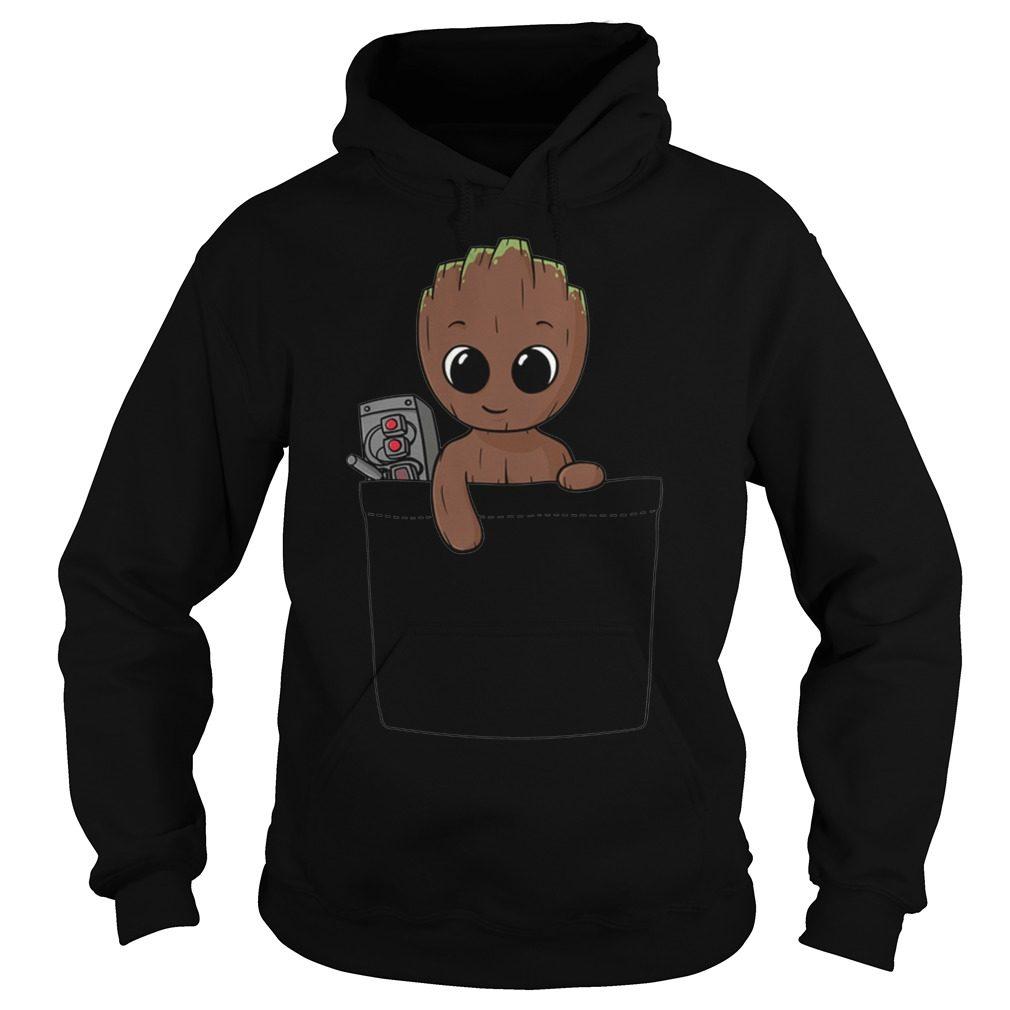 Baby Groot Hoodie