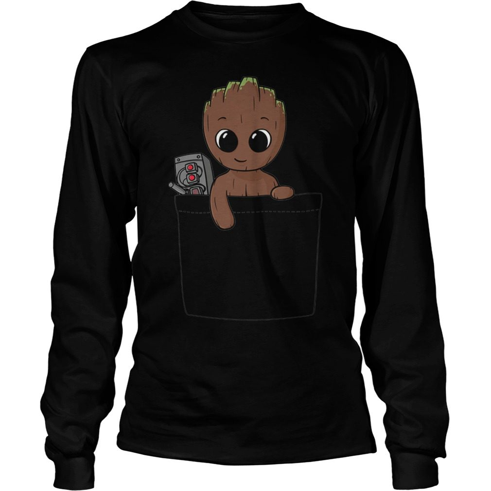 Baby Groot Longsleeve Shirt