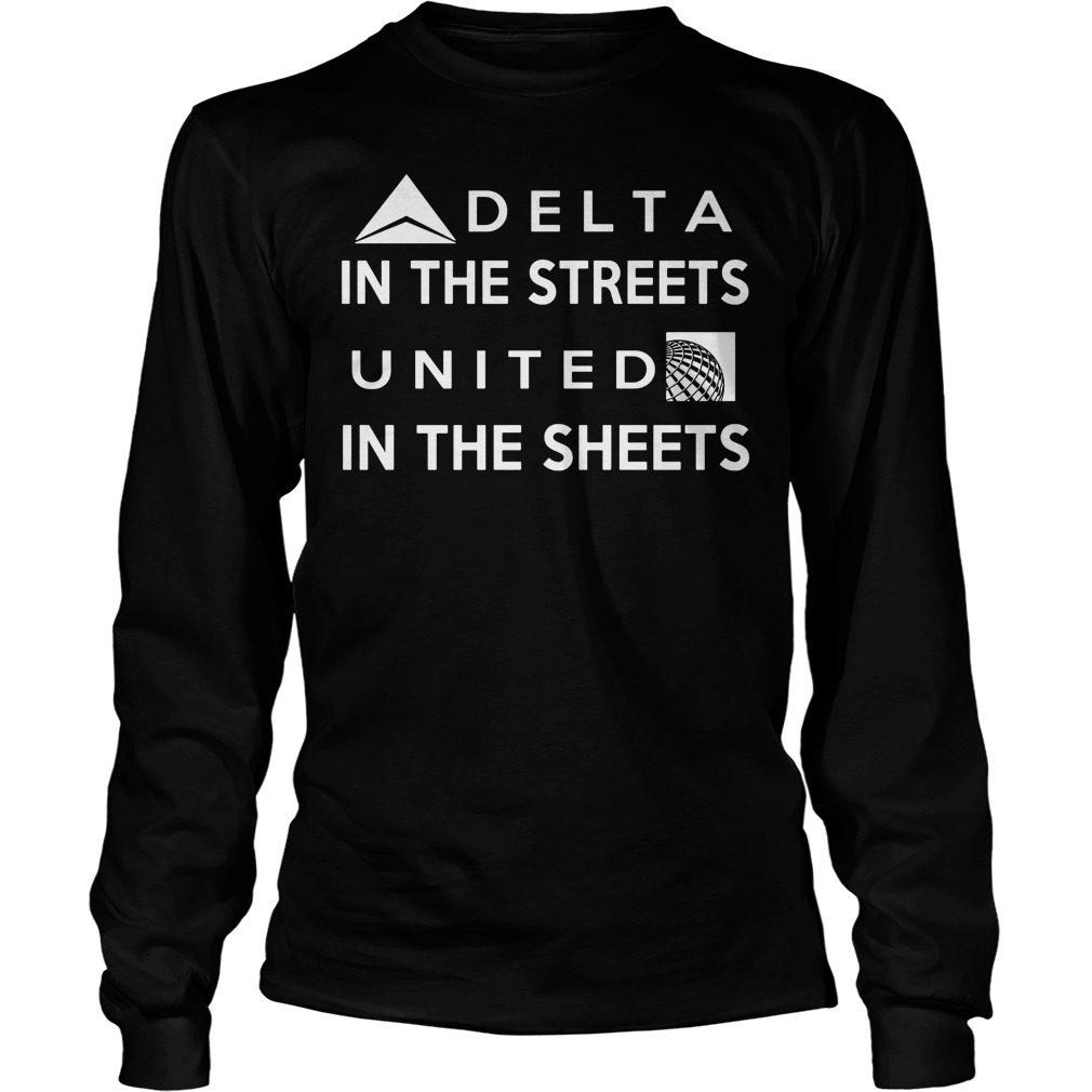 Delta Street United Sheets Longsleeve