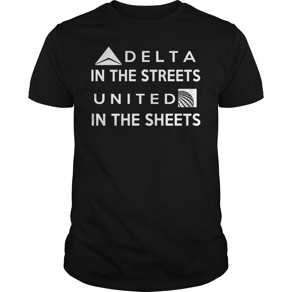 Delta Street United Sheets T Shirt
