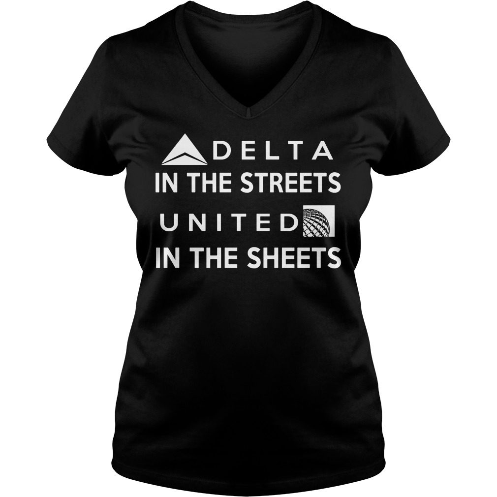 Delta Street United Sheets V Neck Tee