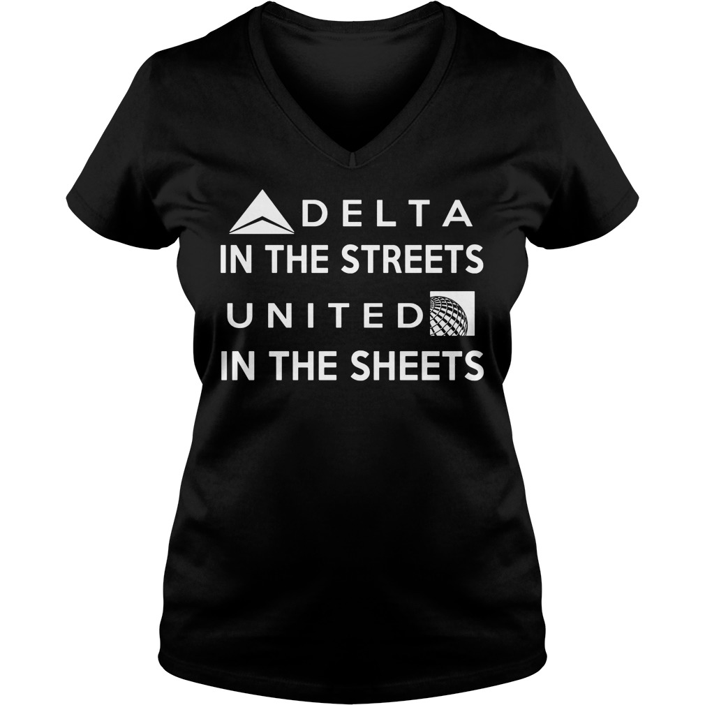 Delta Street United Sheets V Neck Tee