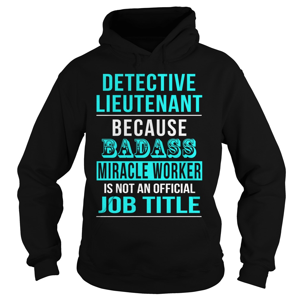 Detective Lieutenant Hoodie