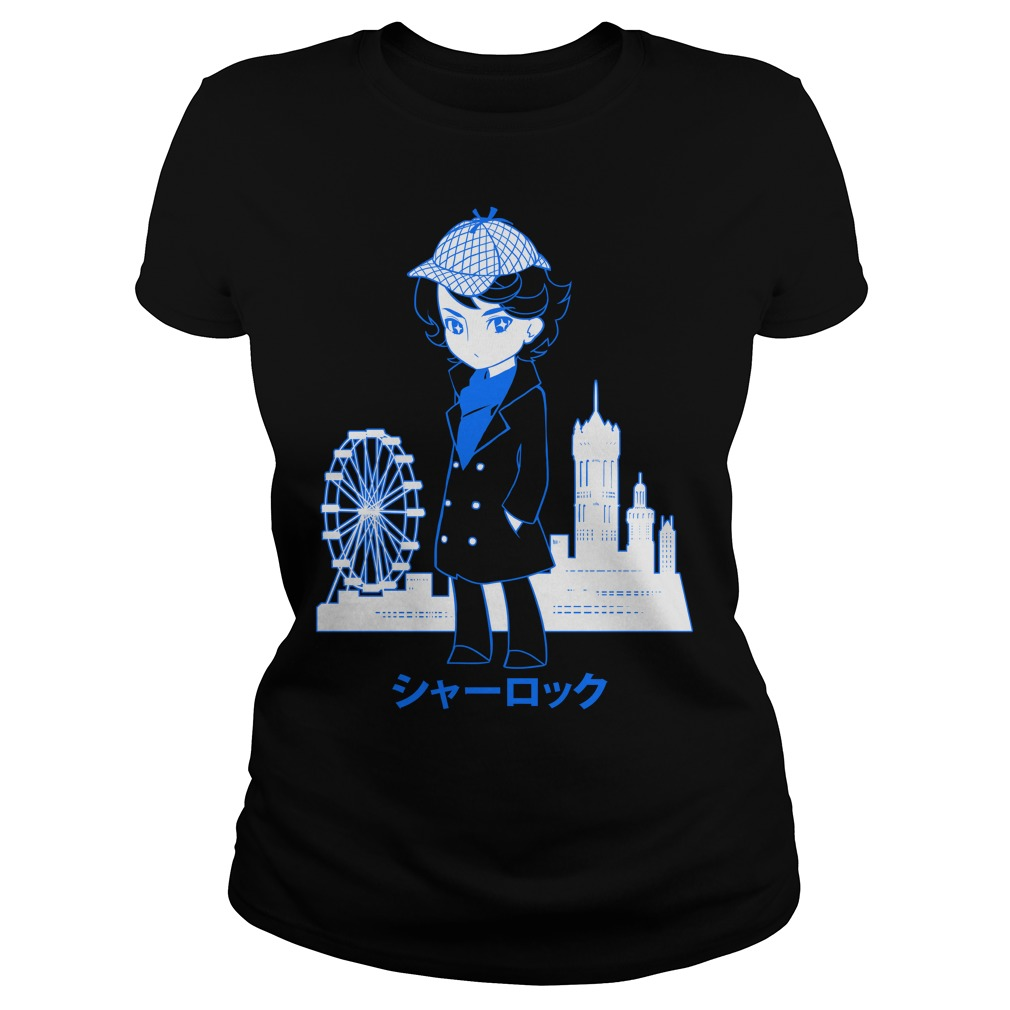 Detective London Myougi Ladies Shirt
