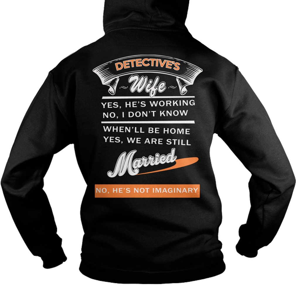 Detectives Wife Ladies Hoodie