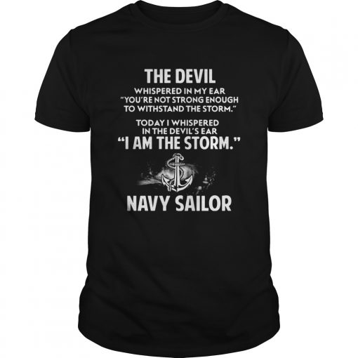 Devil Storm Navy Sailor Shirt