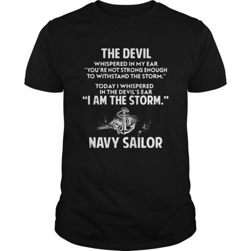 Devil Storm Navy Sailor Shirt