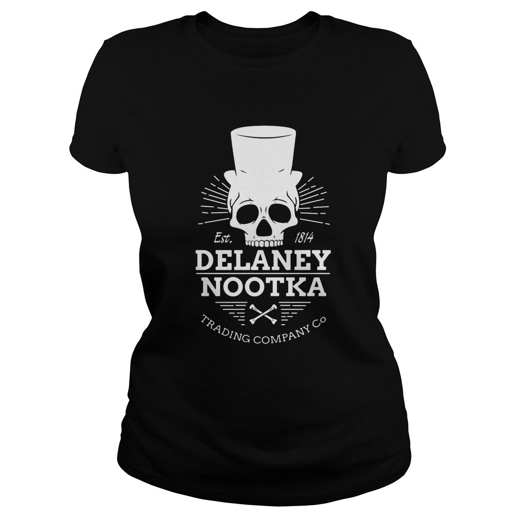 Est 1814 Dealaney Nootka Trading Company Ladies Tee