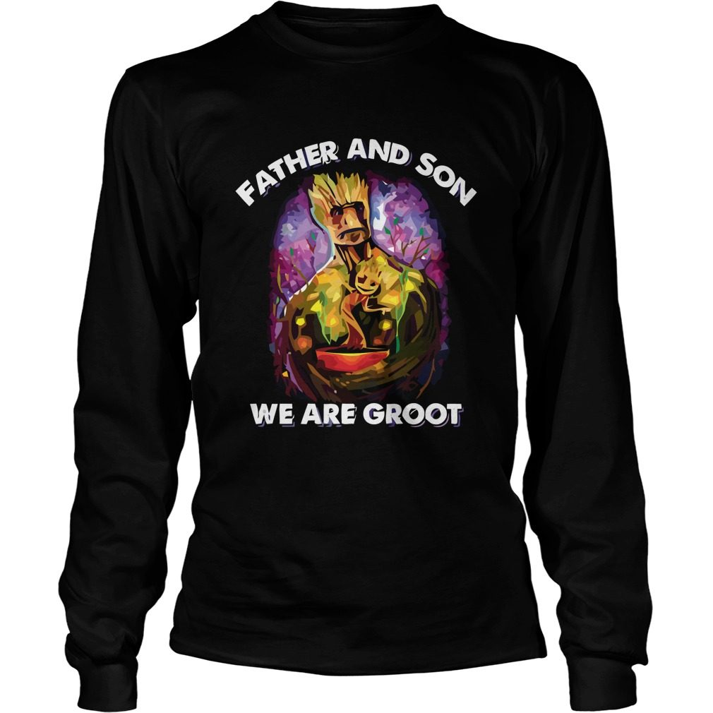 Father Son Groot Longsleeve Shirt