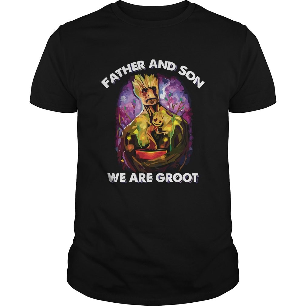 Father Son Groot Shirt