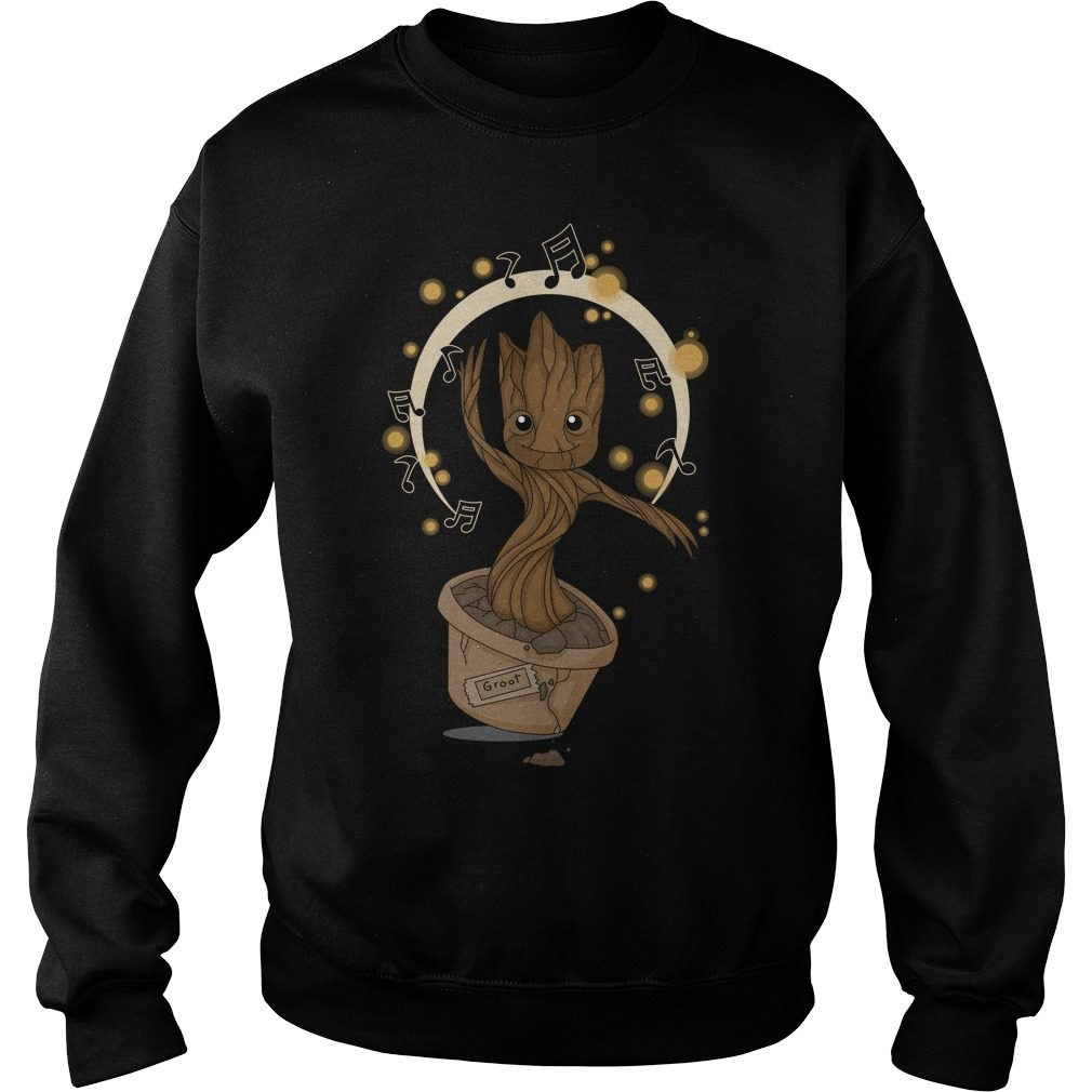 Groovy Baby Groot 2 Sweat Shirt