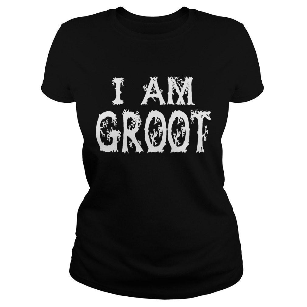 Guardian Galaxy Groot Ladies Shirt