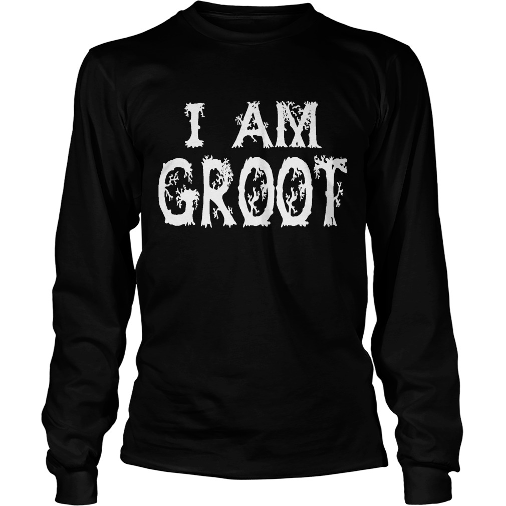 Guardian Galaxy Groot Longsleeve Shirt