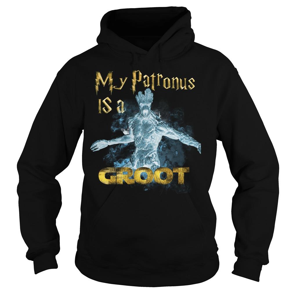 Guardians Galaxy Patronus Groot Hoodie