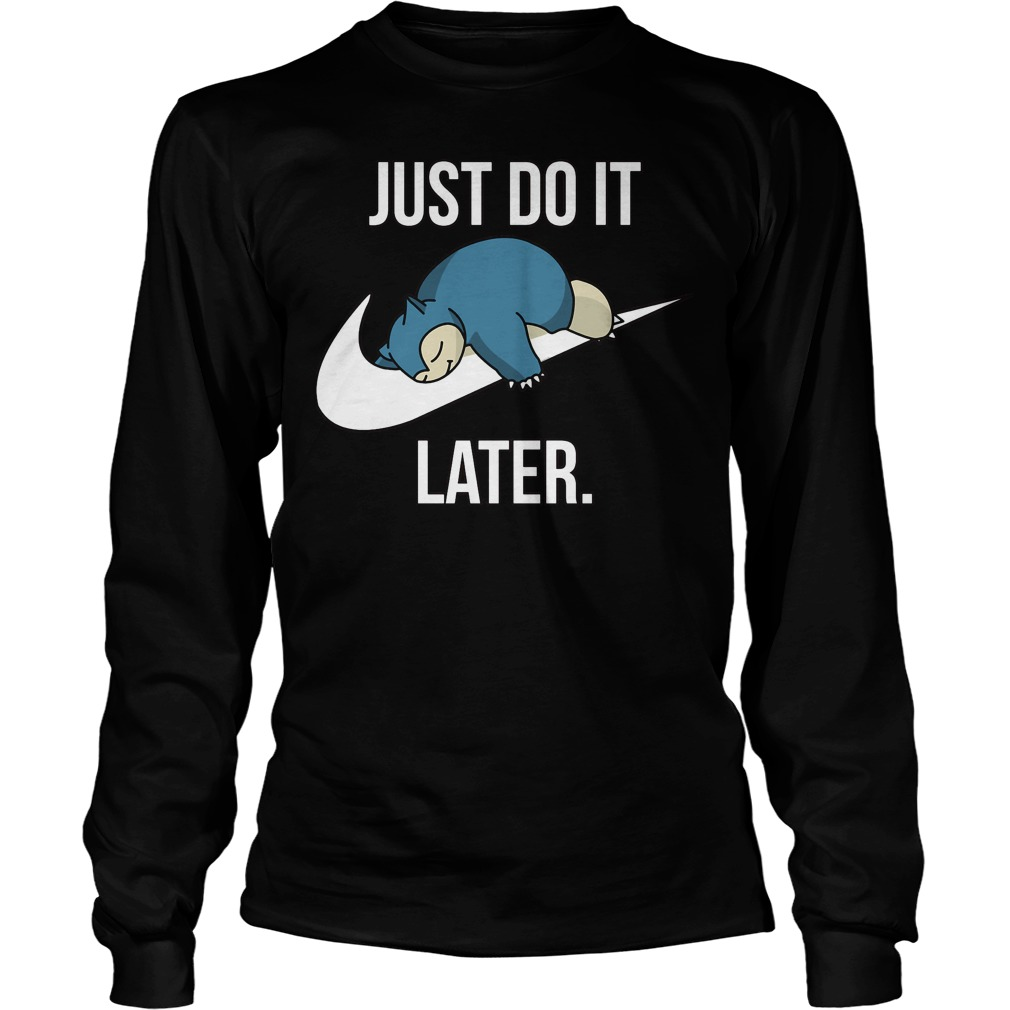 Just Later Longsleeve Tee
