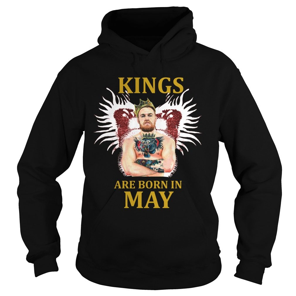 Kings Born May Conor Mcgregor Hoodie