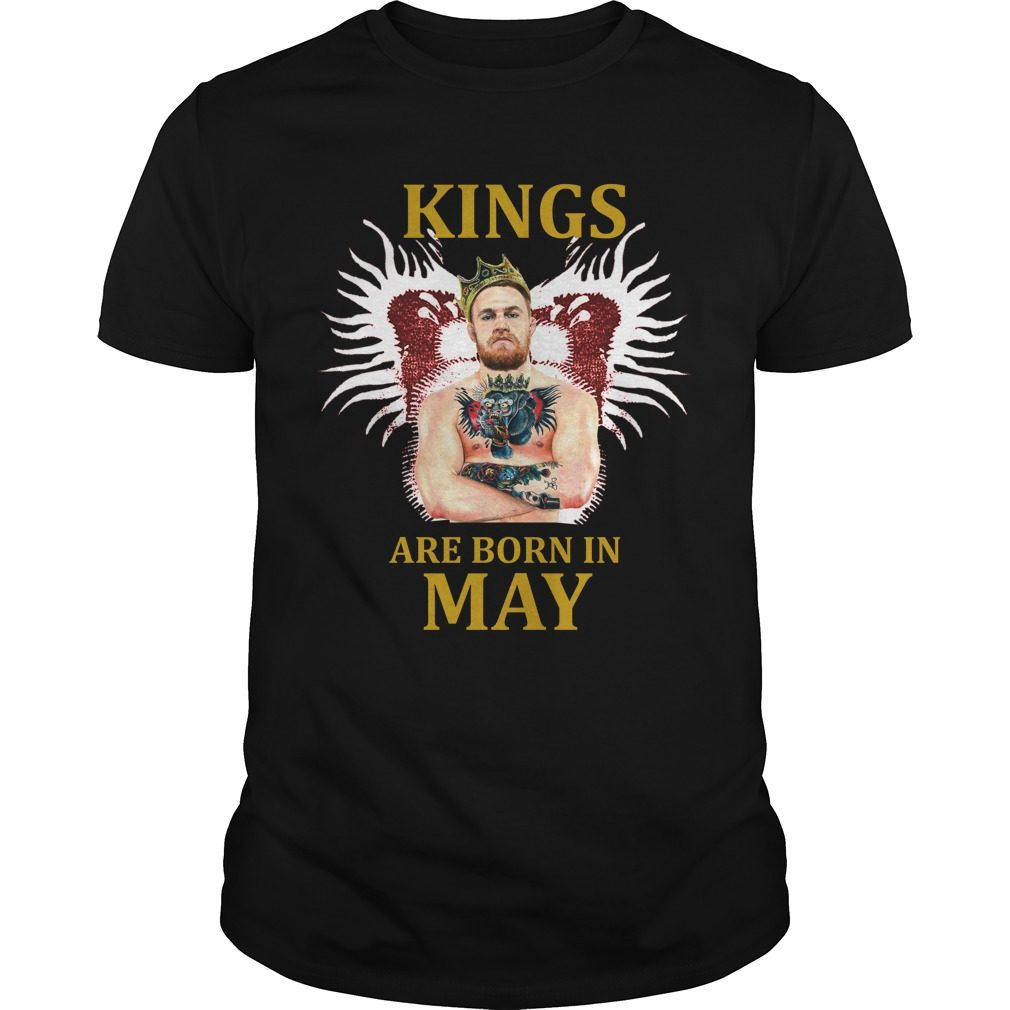 Kings Born May Conor Mcgregor Shirt