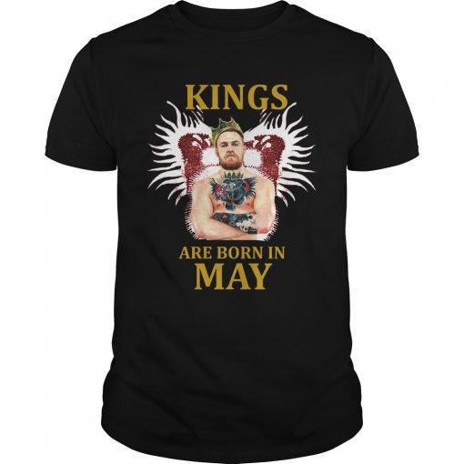 Kings Born May Conor Mcgregor Shirt