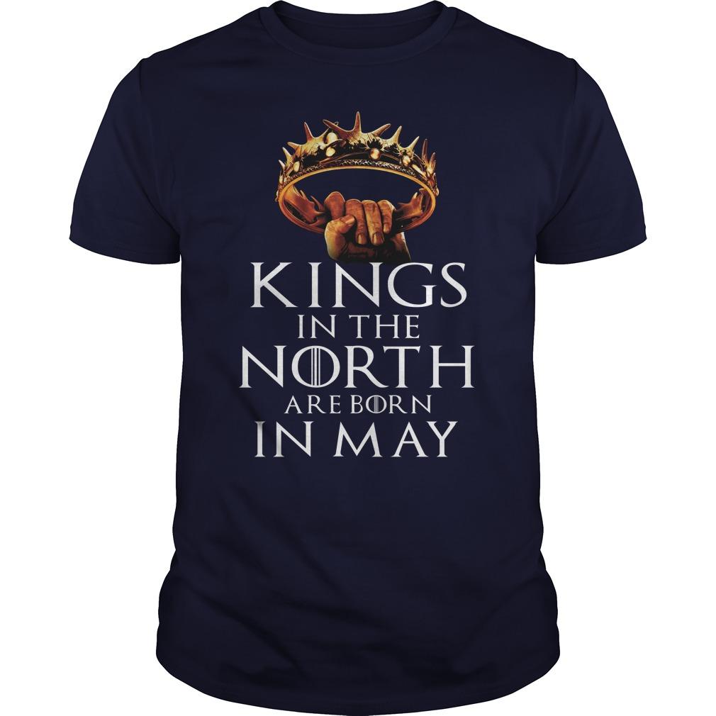 Kings North Born May T Shirt