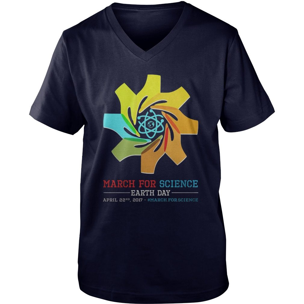 March Science Earth Day Guys V Neck