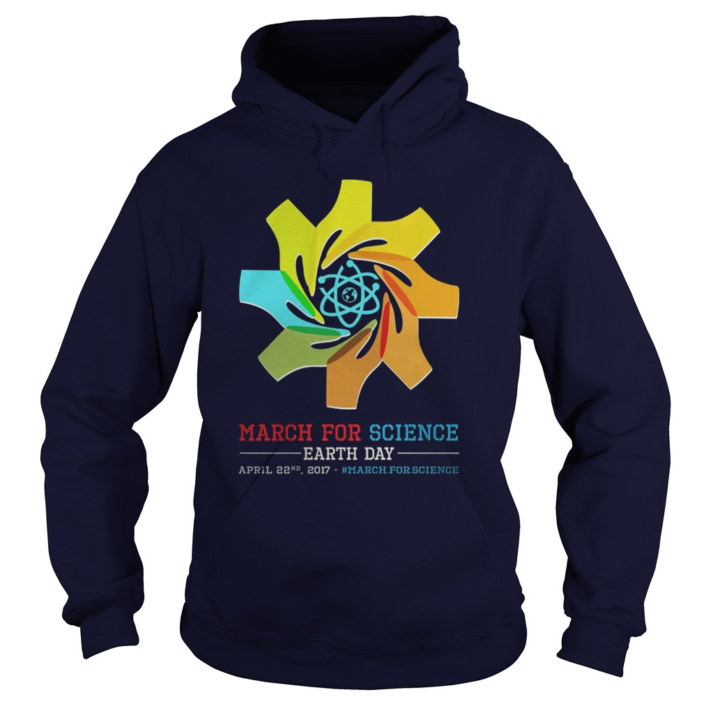 March Science Earth Day Hoodie